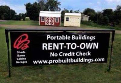 PROBUILT Portable Buildings| Rent-To-Own Program